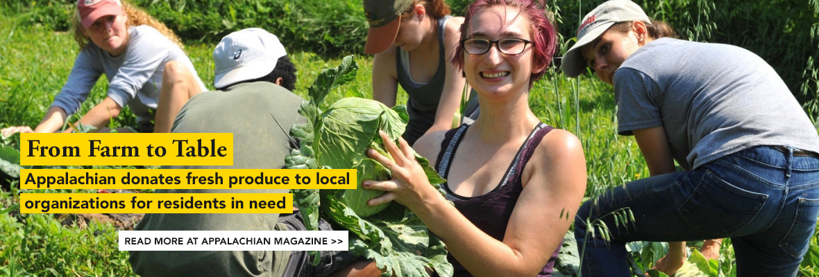From Farm to Table - Appalachian Magazine Feature