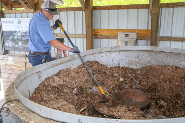 Breaking Down Appalachian State's Composting Efforts