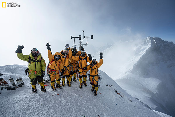 App State researchers scale Mount Everest to conduct climate research as part of National Geographic expedition