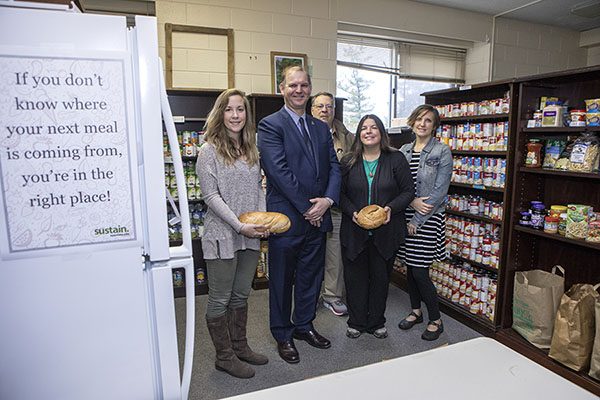 The Appalachian food pantry — an open door that swings both ways