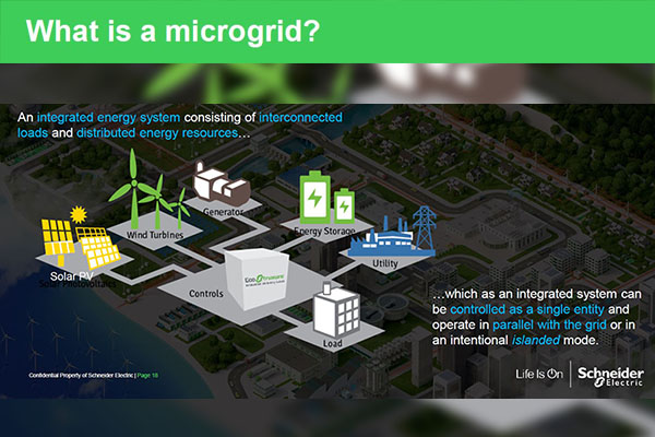 Appalachian alumnus Bill Pfleger explores 'The New Energy Landscape' through microgrid technology