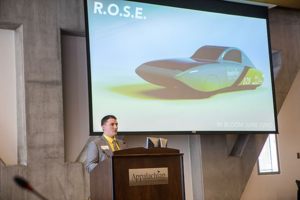 Appalachian's Solar Vehicle Team selects winning name for Cruiser Class car