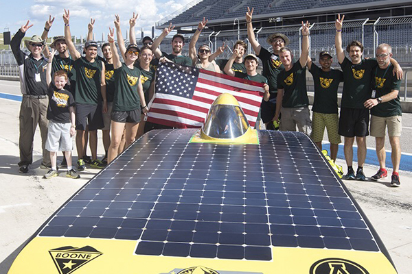 Team Sunergy Leads in the Race to Carbon Neutrality
