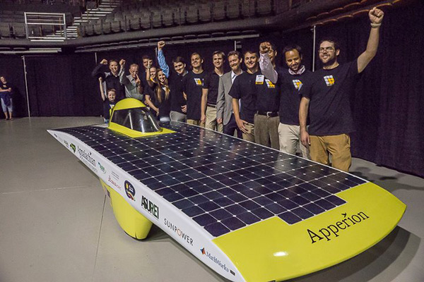 Solar Vehicle Team heads to Austin, Texas to compete in the Formula Sun Grand Prix