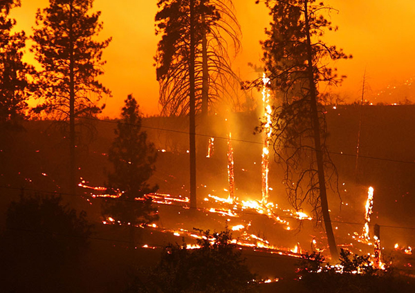 Researchers link western wildfire activity to arctic warming