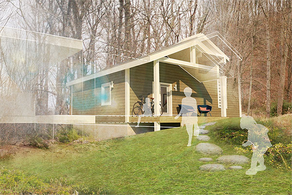 App Builds a Home — App State's IDEXlab designs zero energy ready home